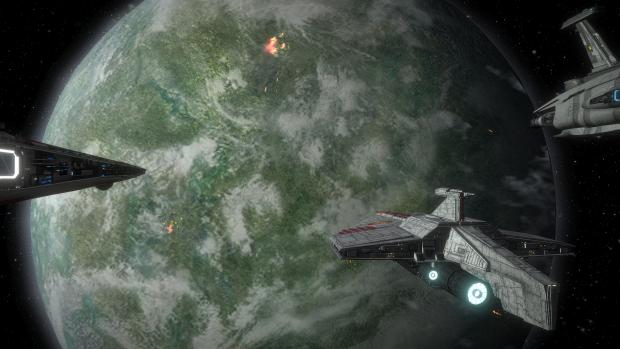 Space Battle over Kashyyyk