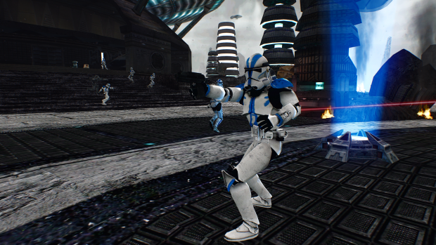 My new Graphics Mod + Rezzed Map + New HD Jettrooper