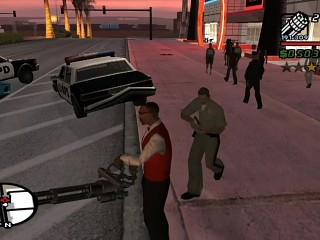 GTA SA SUPERHOT Game Mode