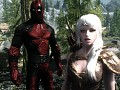 Deadpool Comes To Skyrim