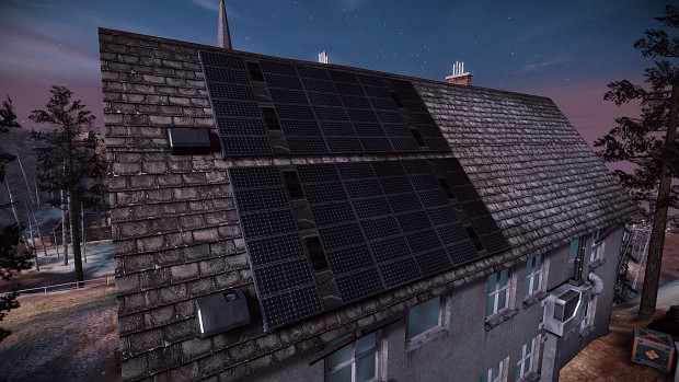 solar panel retexture