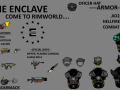 Enclave Reborn+Raider+NCR Rimworld edition