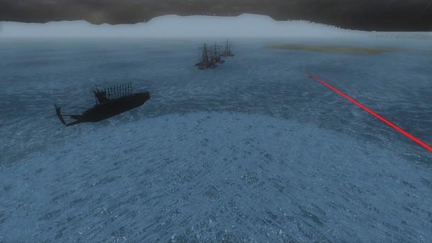 Naval battle first attempt