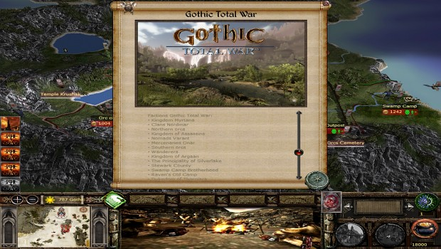 How The Game Looks Like Now Image Gothic Tw Chronicles Of Myrtana Mod For Medieval Ii Total War Kingdoms Mod Db