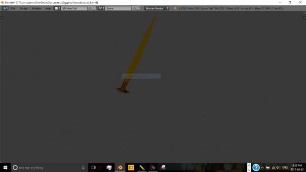 Egyptian Sword