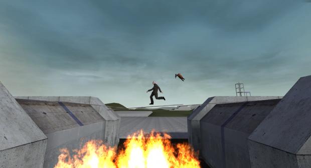 Running from headcrab!