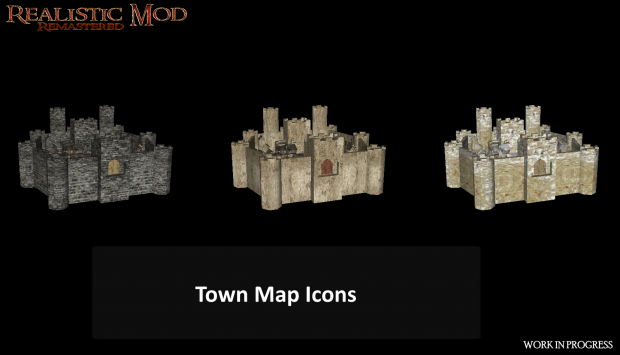 Town Map Icons (HD)