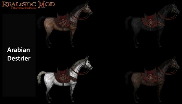 New Horses WIP (HD)