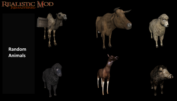 Random Animals WIP (HD)