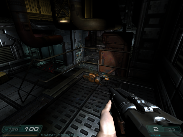 Double Barrel Shotgun in Doom 3