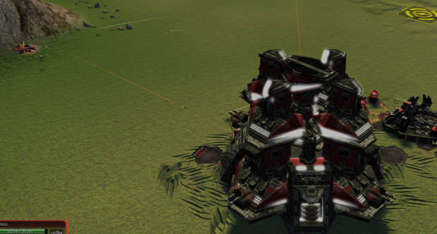 Cybran Tech 2 Fortress Ingame ;)