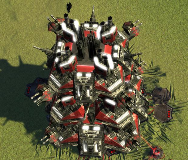Cybran Tech 3 Fortress Ingame ;)