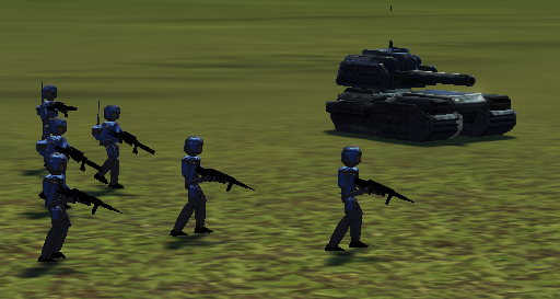 Teaser: Infantryunits in F.B.P. as a new Feature