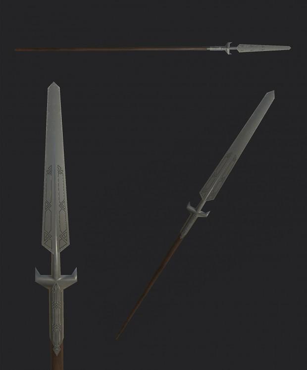 Erebor dwarven spear