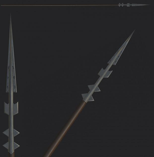 Ironhills dwarven spear