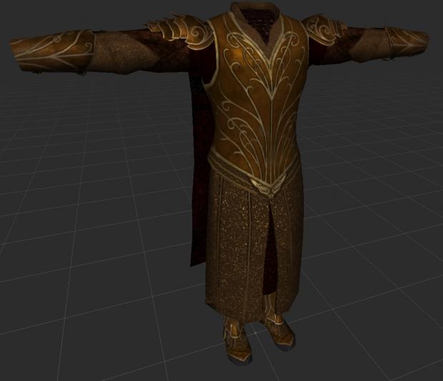 Woodland Realm reward armour
