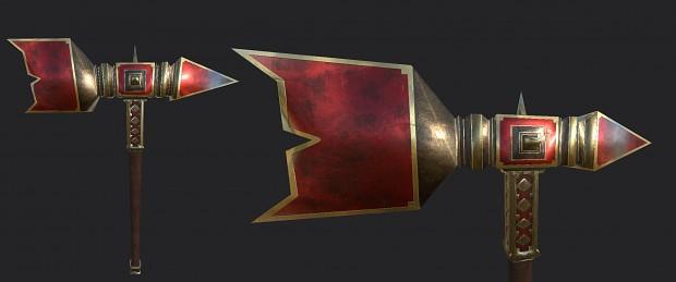 Updated Thrain's warhammer