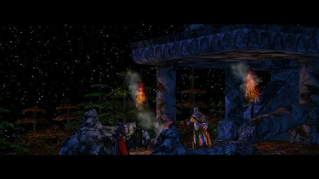 Amon Hen at Night
