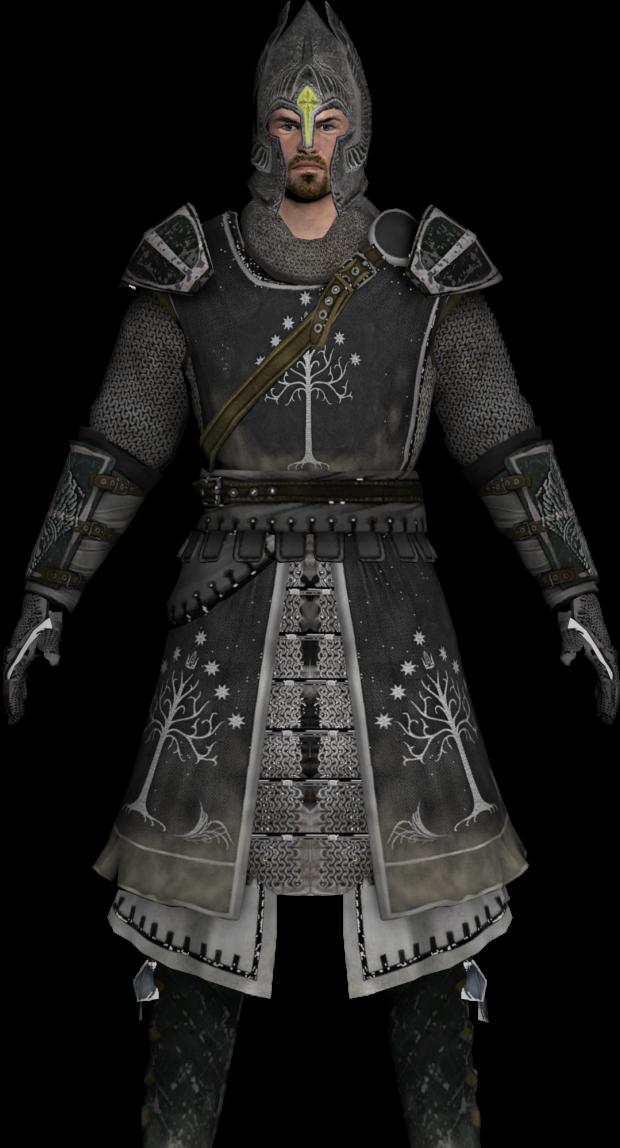 Black Gondorian Armour