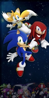 Sonic Heroes 2 - Characters Poster
