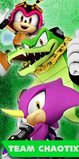 Sonic Heroes 2 - Team Chaotix Poster