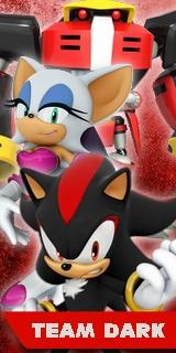Sonic Heroes 2 - Team Dark Poster