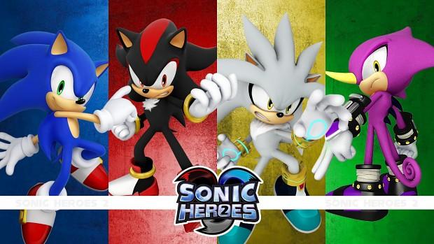 Sonic Heroes 2 - Wallpaper