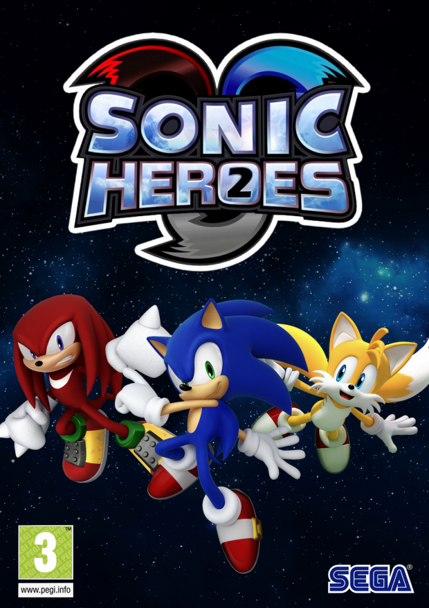Sonic Heroes - Game Front Cover