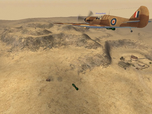 In game screen of air power over Operation Aberdeen