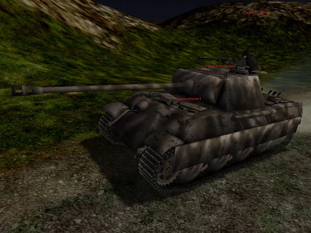 Panther Ausf. A in game