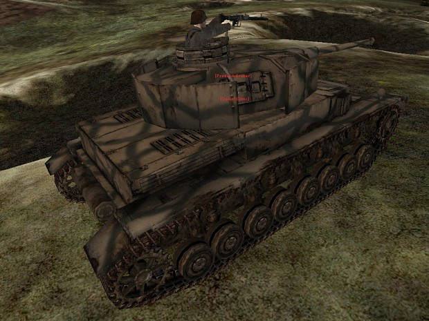 Ingame shots of the Panzer IV Ausf. G