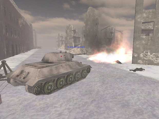 In-game shot of Stalingrad