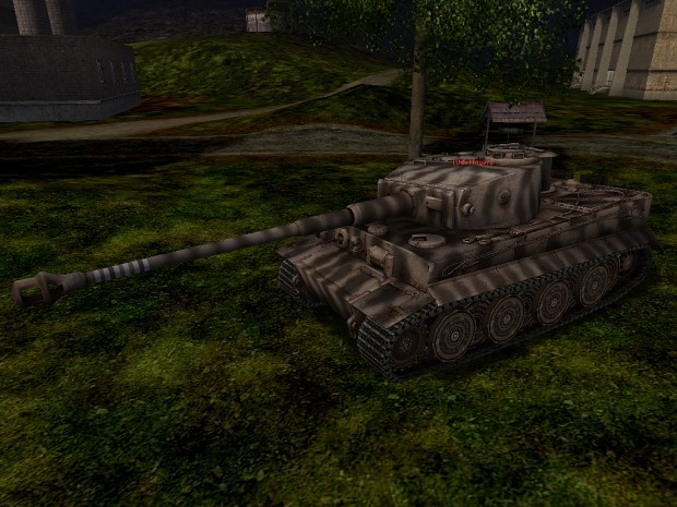 Tiger I in game