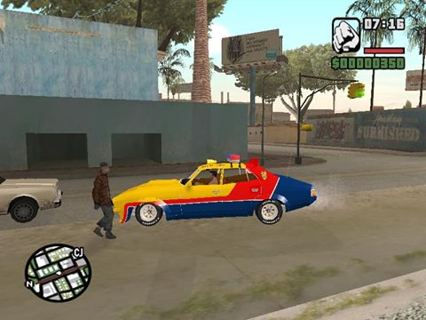 different police car 6 image - GTA MAD MAX mod for Grand