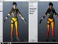 OW - Tracer Texture Pack