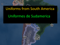 Uniforms of South American Soldiers of the time