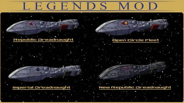 Dreadnaught Class Heavy Cruisers