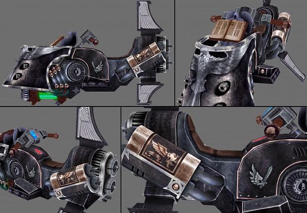 Corvex, the Last Imperial Jetbike (Sammael's mount)