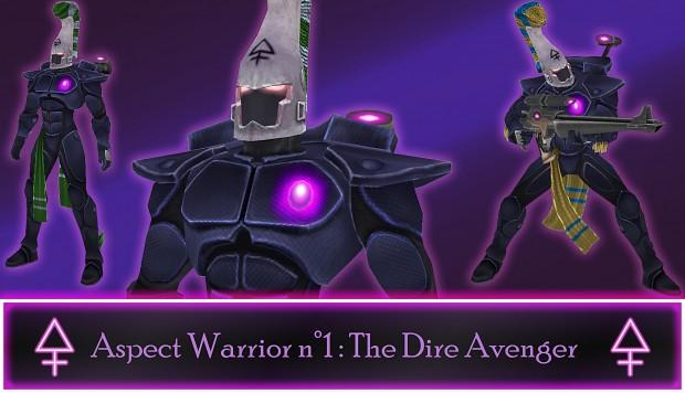 Eldar Aspect Warrior n°1: The Dire Avenger