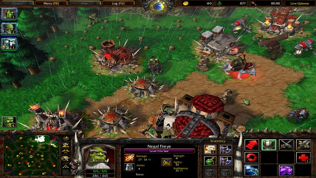 warcraft 3 original gameplay