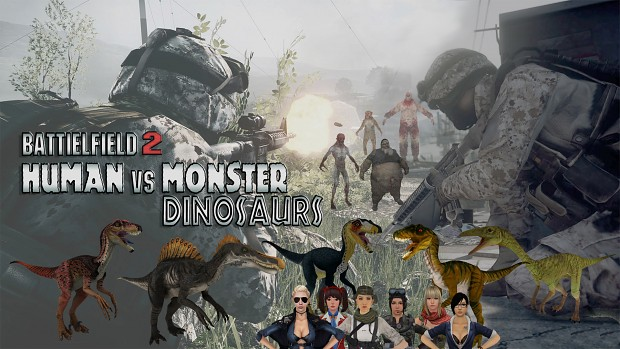 BF2 Human VS Monster Mod v0.2
