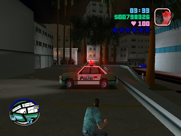 Police Car Fix