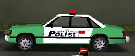 Unfixed Police Car