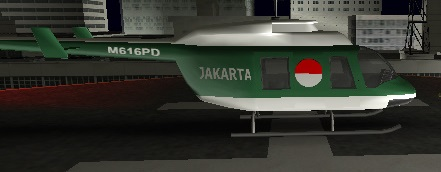 Jakarta Police Helicopter