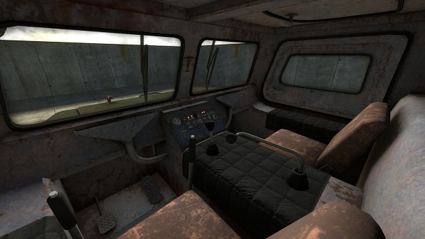 off-road_truck_gaz-71_interior