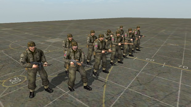 101st and 82nd Airborne Divisions