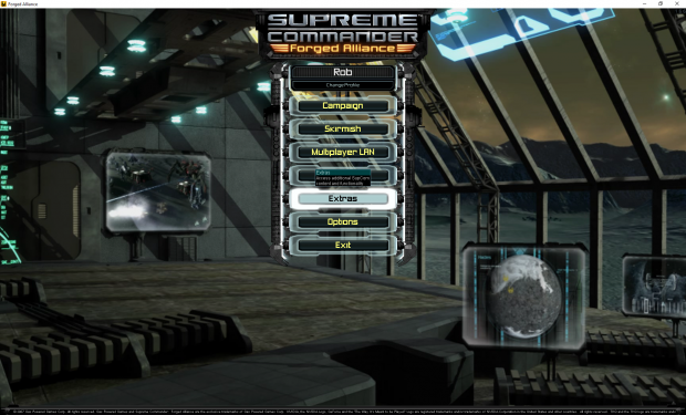 SupCom MainScreen 2