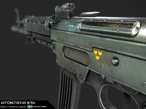 Automatgevär m/86