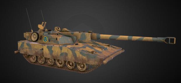 Stridsvagn m/91 Textured