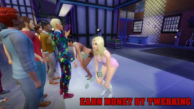Twerk Money image - Extreme Violence mod for The Sims 4 - Mod DB